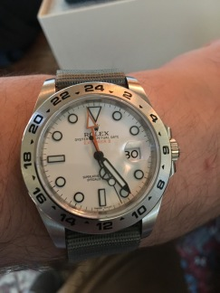 Rolex Explorer II 216570 © 2017 Adam Brown