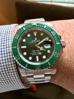 "Rolex Submariner ""Hulk"" IW387805 © 2017 Adam Brown"