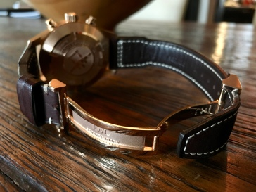 IWC Pilot's Watch Chronograph Edition Antione De Saint Exupery © 2017 Adam Brown