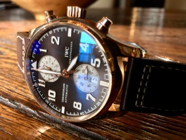 IWC Pilot's Watch Chronograph Edition Antione De Saint Exupery © 2017 Adam Brown