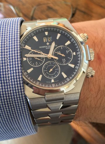 Vacheron Constantin Overseas Chronograph © 2017 Adam Brown
