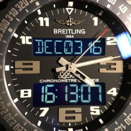 Breitling B-50 Cockpit Night Mission © 2017 Adam Brown