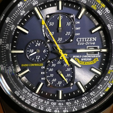 Citizen Eco-Drive Blue Angels © 2017 Adam Brown