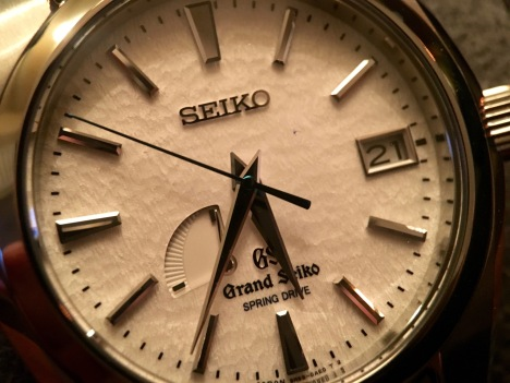 Grand Seiko Snowflake SBGA011 © 2017 Adam Brown