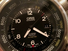 Oris Big Crown ProPilot Altimeter © 2017 Adam Brown