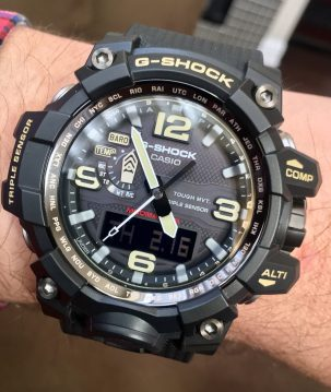 Casio G-Shock Mudmaster © 2017 Adam Brown