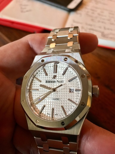 Audemars Piguet Royal Oak 15400 Selfwinding 41mm © 2017 Adam Brown