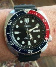 "Seiko Prospex SRP779 ""Turtle"" Automatic Diver © 2017 Adam Brown"