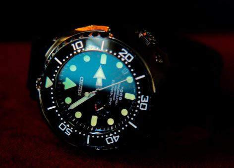 "Seiko Marinemaster ""Tuna"" Spring Drive © 2017 Adam Brown"