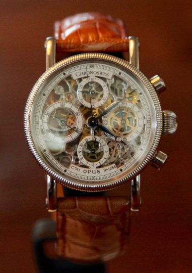 Chronoswiss Opus Skeleton © 2017 Adam Brown