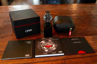 Oris ProDiver Date © 2017 Adam Brown